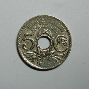 5 Centimes Lindauer petit module 1925 SUP  EB90365