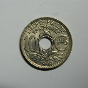 10 Centimes Lindauer 1919 SUP  EB90510