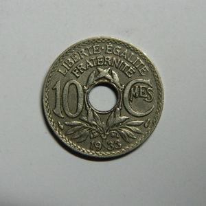 10 Centimes Lindauer 1933 SUP-  EB90512