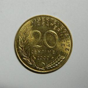 20 Centimes Marianne 2000 FDC  EB90518
