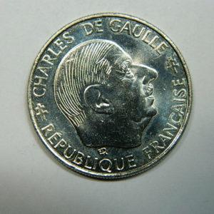 1 Franc Charles de Gaulle 1988 SPL  EB90240