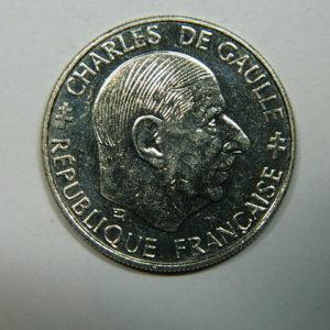 1 Franc Charles de Gaulle 1988 SPL  EB90241