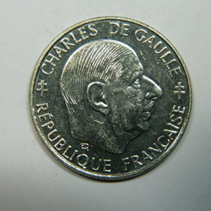 1 Franc Charles de Gaulle 1988 SPL  EB90242