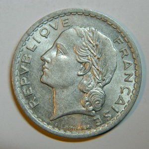 5 Francs Lavrillier 1947 SPL  EB90444