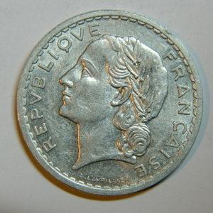 5 Francs Lavrillier 1946 SPL  EB90443