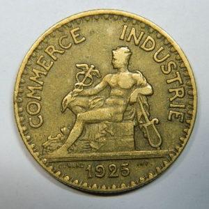 2 Francs Chambre de Commerce 1925 TTB  EB90245