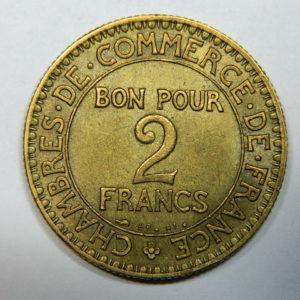 2 Francs Chambre de Commerce 1925 SUP  EB90246