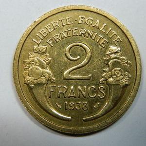 2 Francs Morlon 1938 SPL  EB90248