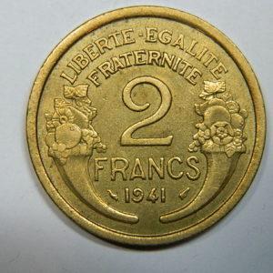 2 Francs Morlon 1941 SUP  EB90250