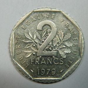 2 Francs Semeuse 1979 SUP  EB90253