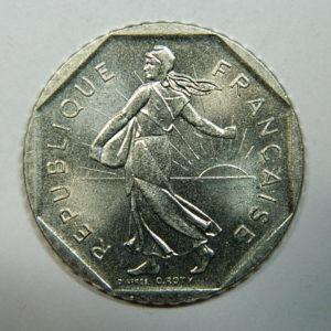 2 Francs Semeuse 1980 FDC  EB90255