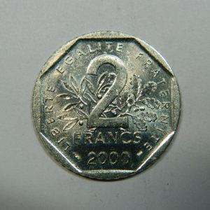 2 Francs Semeuse 2000  FDC EB90258
