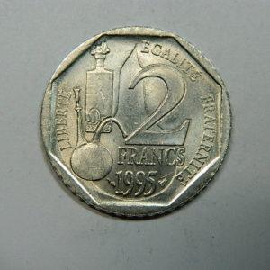 2 Francs Louis Pasteur 1995 SPL  EB90259