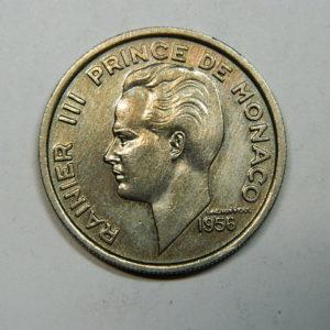 100 Francs Rainier III 1956 SUP+  EB90272