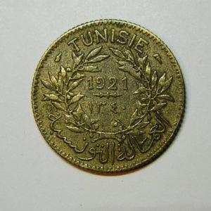 1 Franc (Bon Pour) 1921 TUNISIE SUP  EB90408