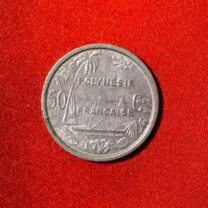 50 Centimes Océanie Polynésie Française 1965  SUP  SI90163