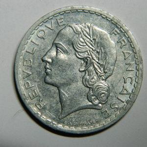 5 Francs Lavrillier 1946B SUP EB90445