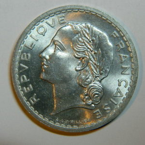 5 Francs Lavrillier 1945 FDC EB90446