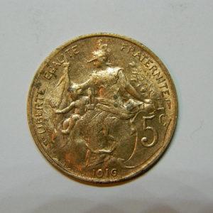 5 Centimes Daniel DUPUIS 1916 SPL EB90458