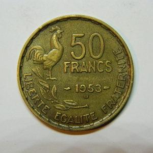 50 Francs Guiraud 1953B SUP EB90460