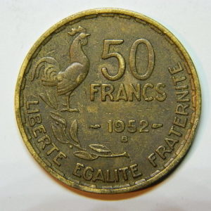 50 Francs Guiraud 1952B TTB EB90469