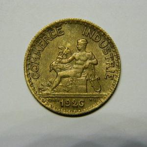 50 Centimes Chambre de commerce 1926 SUP EB90474