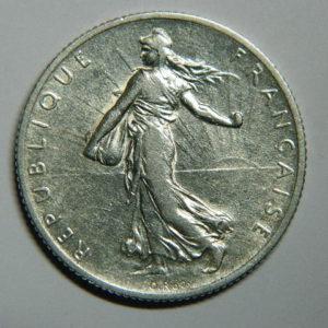 2 Francs Semeuse 1912 TTB Argent 835°/°° EB90404