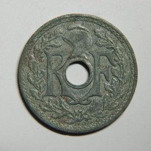 20 Centimes Lindauer Zinc 1945 TTB EB90395