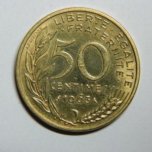 50 Centimes Lagriffoul 1963 4plis SUP EB90392
