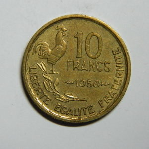 10 Francs Guiraud 1958 SUP- EB90389