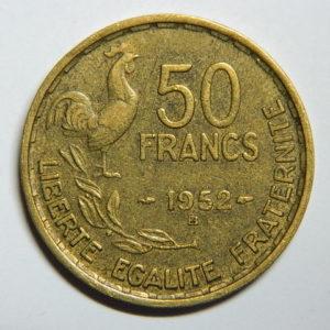 50 Francs Guiraud 1952B TTB EB90387