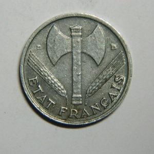 50 Centimes Bazor Etat Français 1944B SUP  EB90378