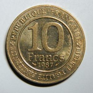 10 Francs Hugues Capet1987 SUP EB90298