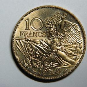 10 Francs François RUDE 1984 SUP+  EB90299