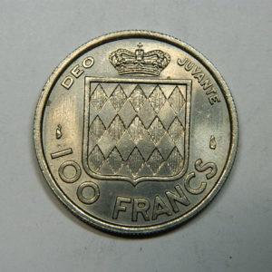 100 Francs Rainier III 1956 SUP EB90269