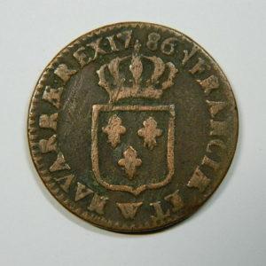 SOL Louis XVI 1786W TB+ EB90142