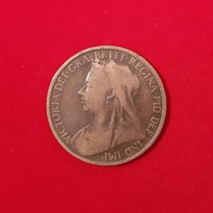 ½ Penny Half Penny Victoria 1900 Angleterre SI90033A
