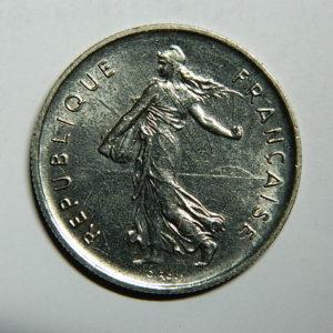 5 Francs Semeuse 1970 SPL EB90447