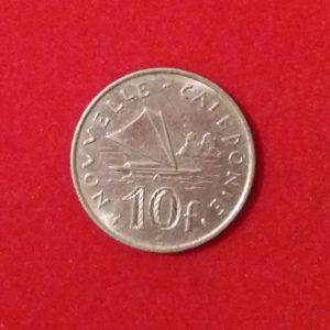 10 Francs Nouvelle Calédonie 1970 SUP SI90269