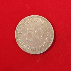 50 Pfenning 1950 F Allemagne TTB SI90273