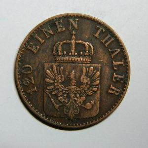3 Pfenninge-120 Thaler  Allemagne Prusse 1856A SUP EB90286