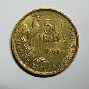 50 Francs Guiraud 1951 SPL EB90305