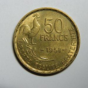 50 Francs Guiraud 1951 SPL EB90309