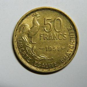 50 Francs Guiraud 1951 SPL  EB90308