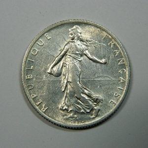 2 Francs Semeuse 1915 SUP Argent 835°/°° EB90203