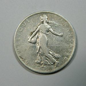 2 Francs Semeuse 1898 TB Argent 835°/°° EB90191