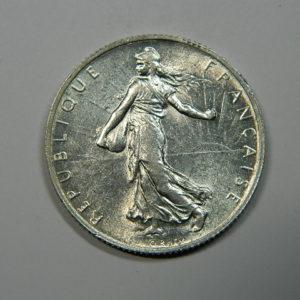 2 Francs Semeuse 1915 SUP Argent 835°/°° EB90187