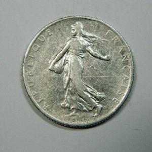 2 Francs Semeuse 1902 TTB- Argent 835°/°° EB90176