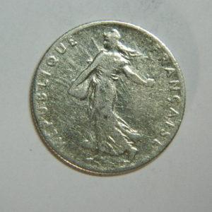 50 Centimes Semeuse 1910 TB+ Argent 835°/°° EB90344