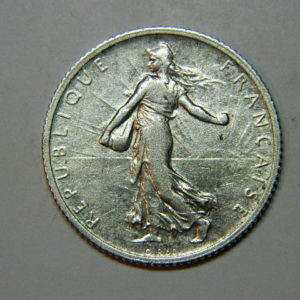1 Franc Semeuse 1910 TTB Argent   835°/°° EB90229